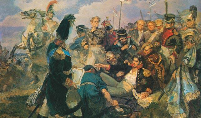 Картинки по запросу П.И. Багратион на Бородинском поле